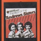 The Andrew Sisters - The Best Of The Andrew Sisters 1978 K-TEL IMPERIAL A40 8-track tape