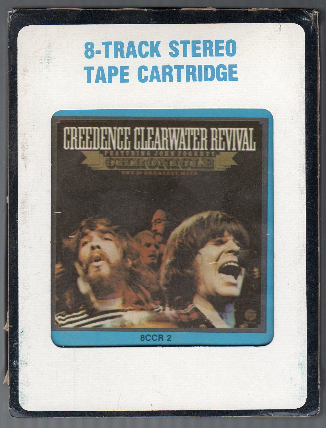 Creedence clearwater revival chronicle crc t3 8 track tape for Ab salon equipment clearwater fl