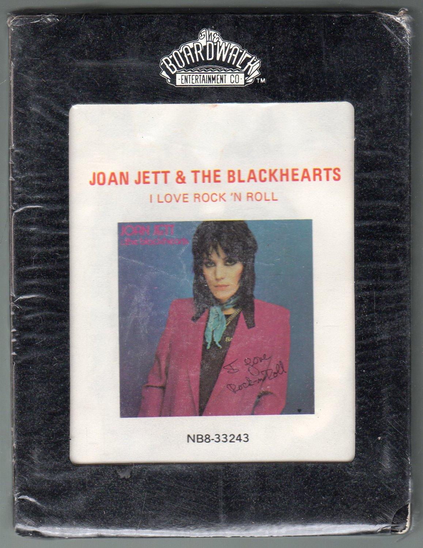Joan Jett And The Blackhearts - I Love Rock 'N Roll 1981 BOARDWALK Sealed A51 8-track tape