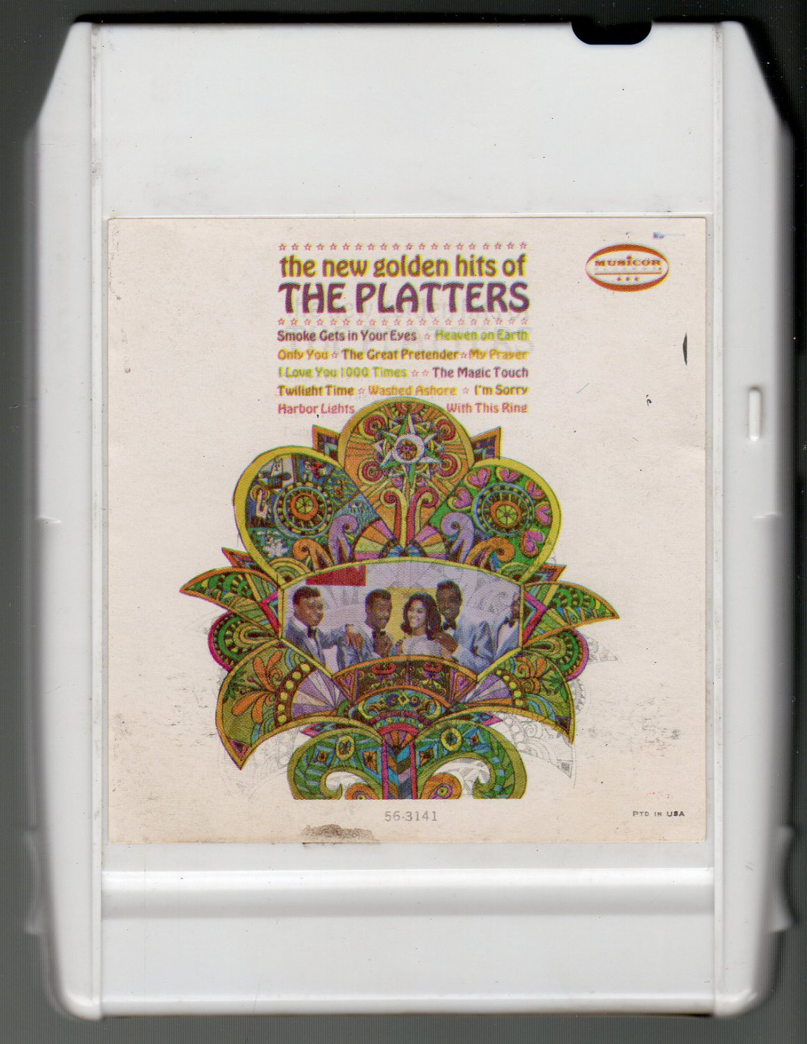 The Platters - New Golden Hits Of 1967 MUSICOR ITCC A50 8-track tape