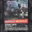 Stray Cats - Built For Speed 1982 EMI Debut Sealed AC1 8-track tape