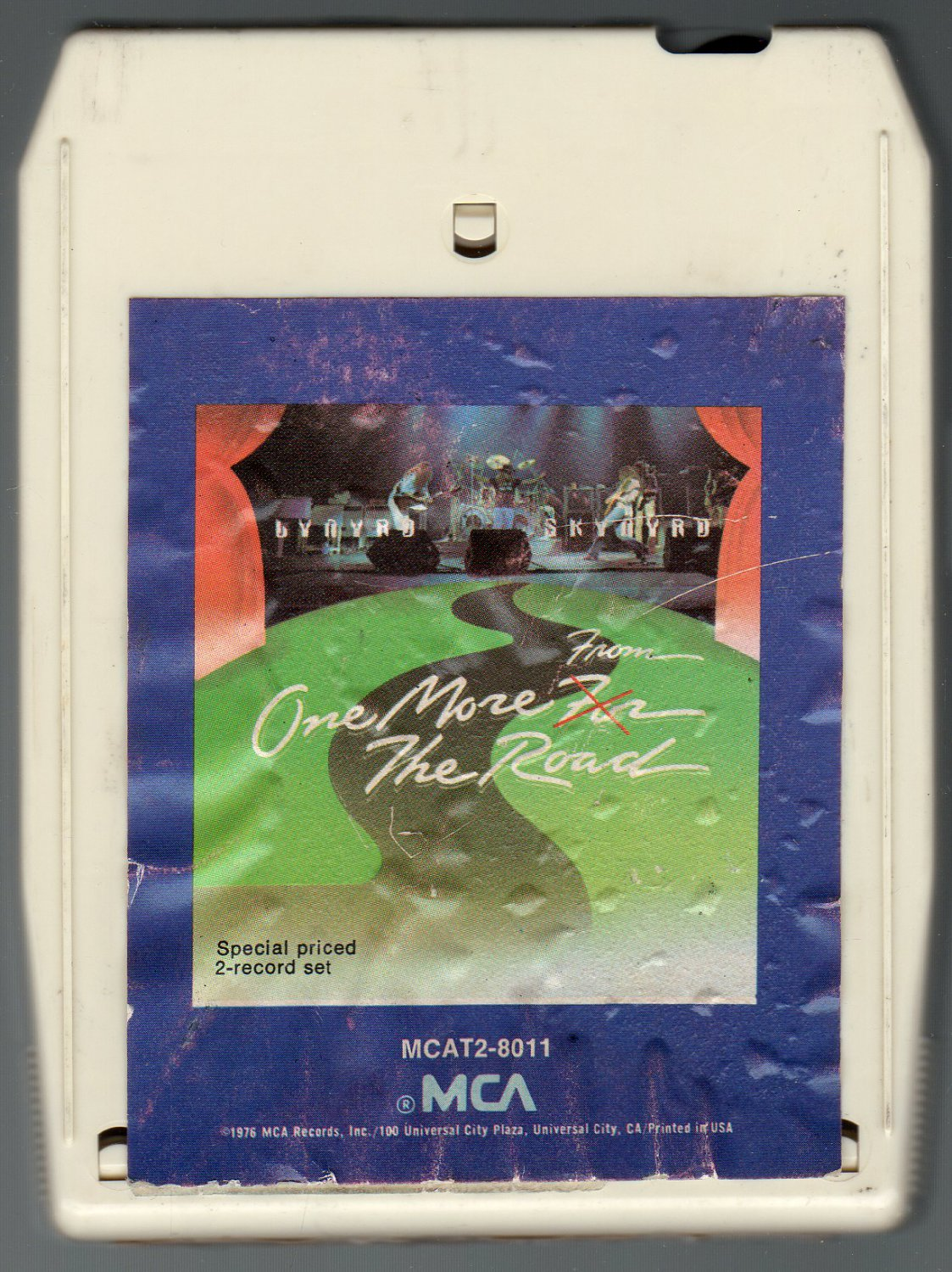 Lynyrd Skynyrd - One More From The Road 1976 MCA SOLD 8-track tape