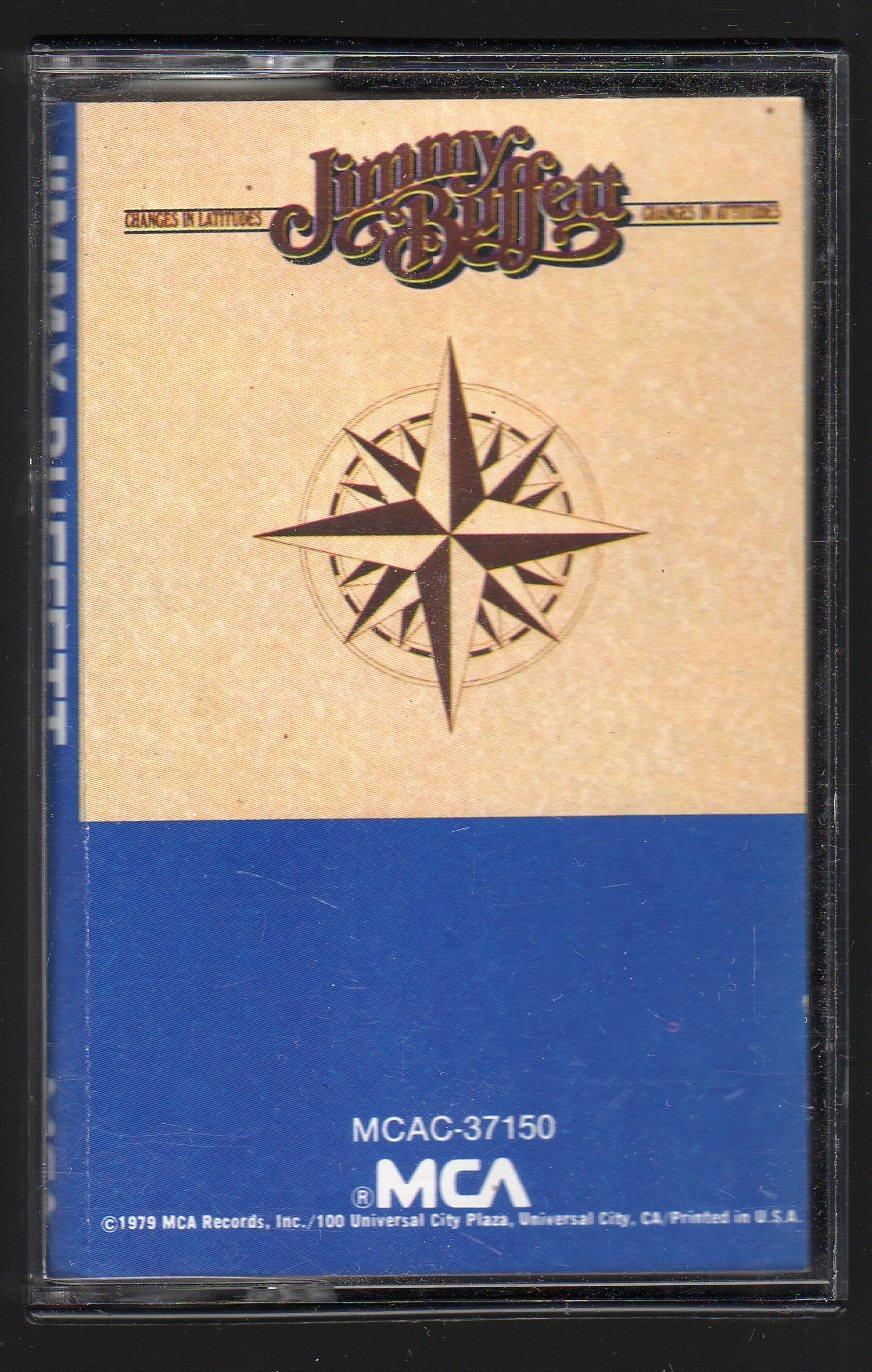Jimmy Buffett - Changes In Latitudes C4 Cassette Tape