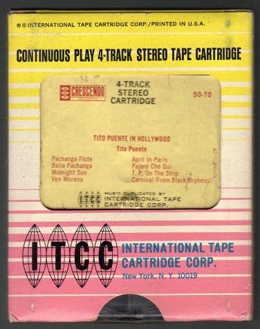 Tito Puente - Tito Puente In Hollywood 1962 ITCC CRESCENDO AC5 4-track tape