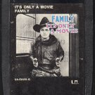 Family - It's Only A Movie 1973 UA A44 8-track tape
