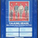 Talking Heads - More Songs About Buildings And Food 1978 GRT A49 8-track tape
