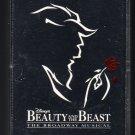Beauty And The Beast - Walt Disney's Original Cast Recording C11 Cassette Tape