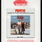 Popeye - Original Motion Picture Soundtrack 1980 BOARDWALK Sealed A25 8-track tape