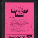 The Beatles - Beatles Greatest Alpha-Omega Vol 1 Tape 2 1972 AUDIOTAPE BLK/PNK Cart AC4 8-track tape