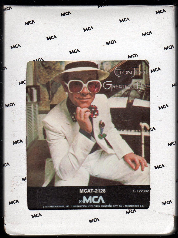 Elton John - Elton John's Greatest Hits 1974 MCA SOLD 8-track tape