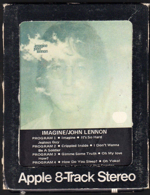 John Lennon - Imagine 1971 APPLE 8-track tape