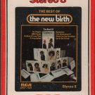 The New Birth - Best Of 1975 RCA Sealed 8-track tape