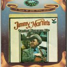 Jimmy Martin - Jimmy Martin's Greatest Bluegrass Hits 1978 GUSTO AC3 8-track tape