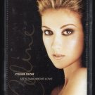Celine Dion - Let's Talk About Love 1997 EPIC C7 Cassette Tape