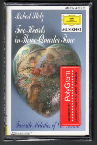Robert Stolz - Two Hearts In Three Quarter Time POLYGRAM Sealed C9 Cassette Tape
