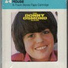 Donny Osmond - The Donny Osmond Album 1971 CRC MGM Sealed A18F 8-track tape