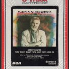 Kenny Rogers - They Don't Make Them Like They Used To 1986 RCA Sealed A18C 8-track tape
