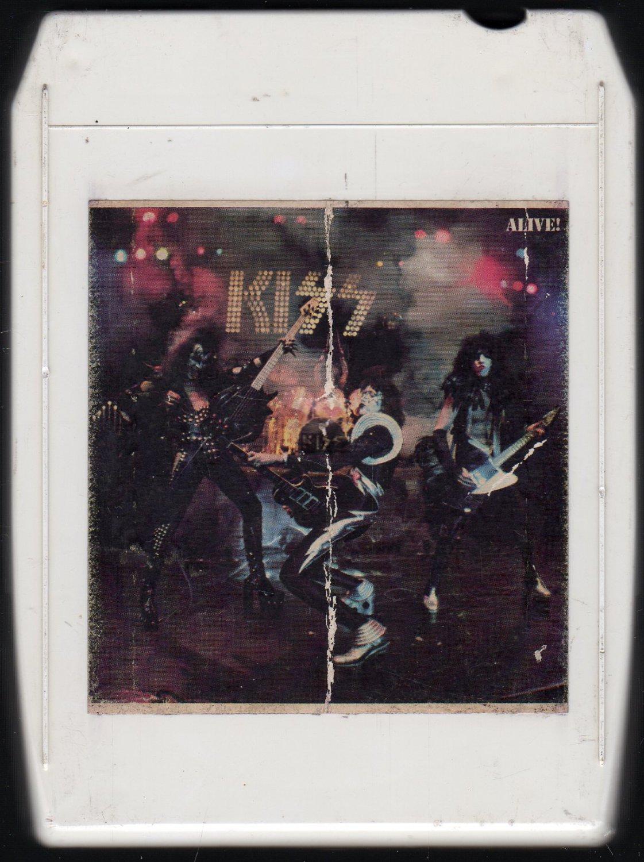 KISS - Alive 1975 CASABLANCA 8-track tape