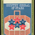 Country Corral Of Stars - Various Country 1965 ADELL Sealed A21B 8-track tape