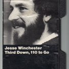 Jesse Winchester - Third Down 110 To Go 1972 WB Hard Shell C12 Cassette Tape