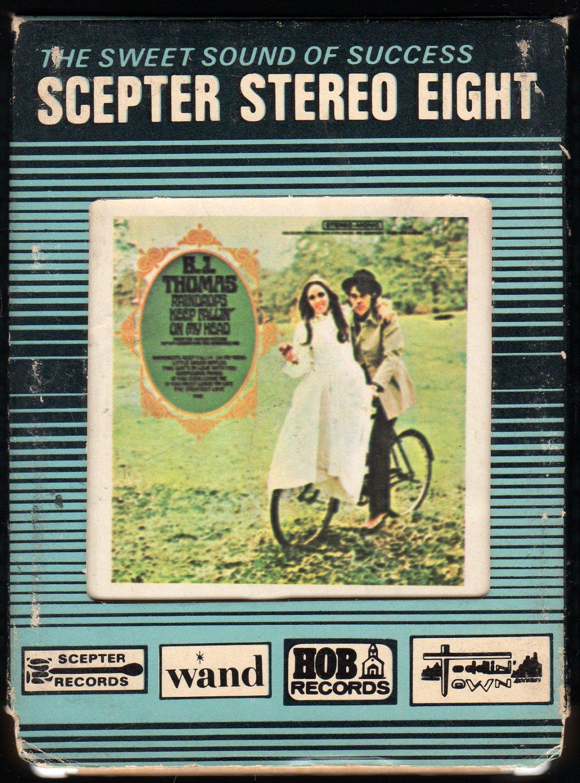 B.J. Thomas - Raindrops Keep Falling On My Head 1969 SCEPTER 8-track tape