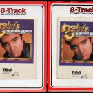 Elvis Presley - 50 Years 50 Hits Parts 1 & 2 1985 RCA AC2 8-track tape