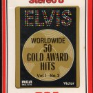 Elvis Presley - 50 Gold Award Hits Vol 1 No 3 1970 RCA AC2 8-track tape