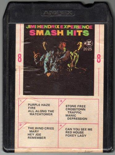 Jimi Hendrix, Smash Hits 8-Track