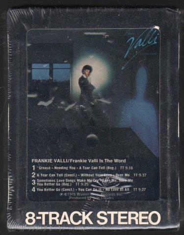 Frankie Valli - Frankie Valli Is The Word 1978 WB Sealed C/O T3 8-track tape