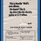 Howlin' Wolf - The Howlin' Wolf Album 1969 GRT A15M CADET 8-track tape