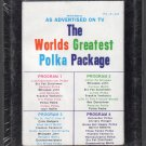 The Worlds Greatest Polka Package - Various Polka POLKA CITY Sealed A4 8-track tape