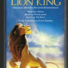 The Lion King - Original Soundtrack 1994 WALT DISNEY C14 Cassette Tape