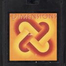 Dimensions - Various Artists Soft Rock 1981 K-TEL A50 8-track tape
