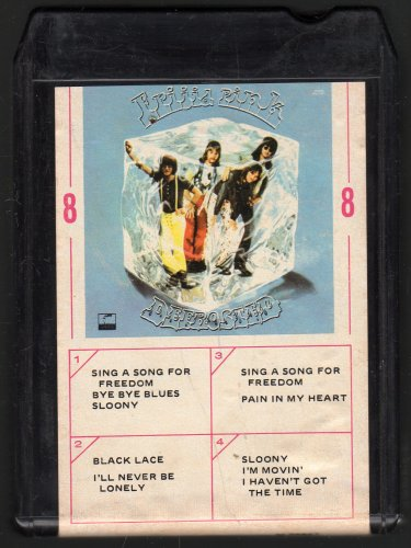 Frigid Pink - Defrosted 1971 AMPEX PARROT A9 8-track tape