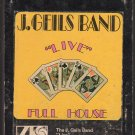 The J. Geils Band - Live Full House 1972 ATLANTIC WB A2 8-track tape