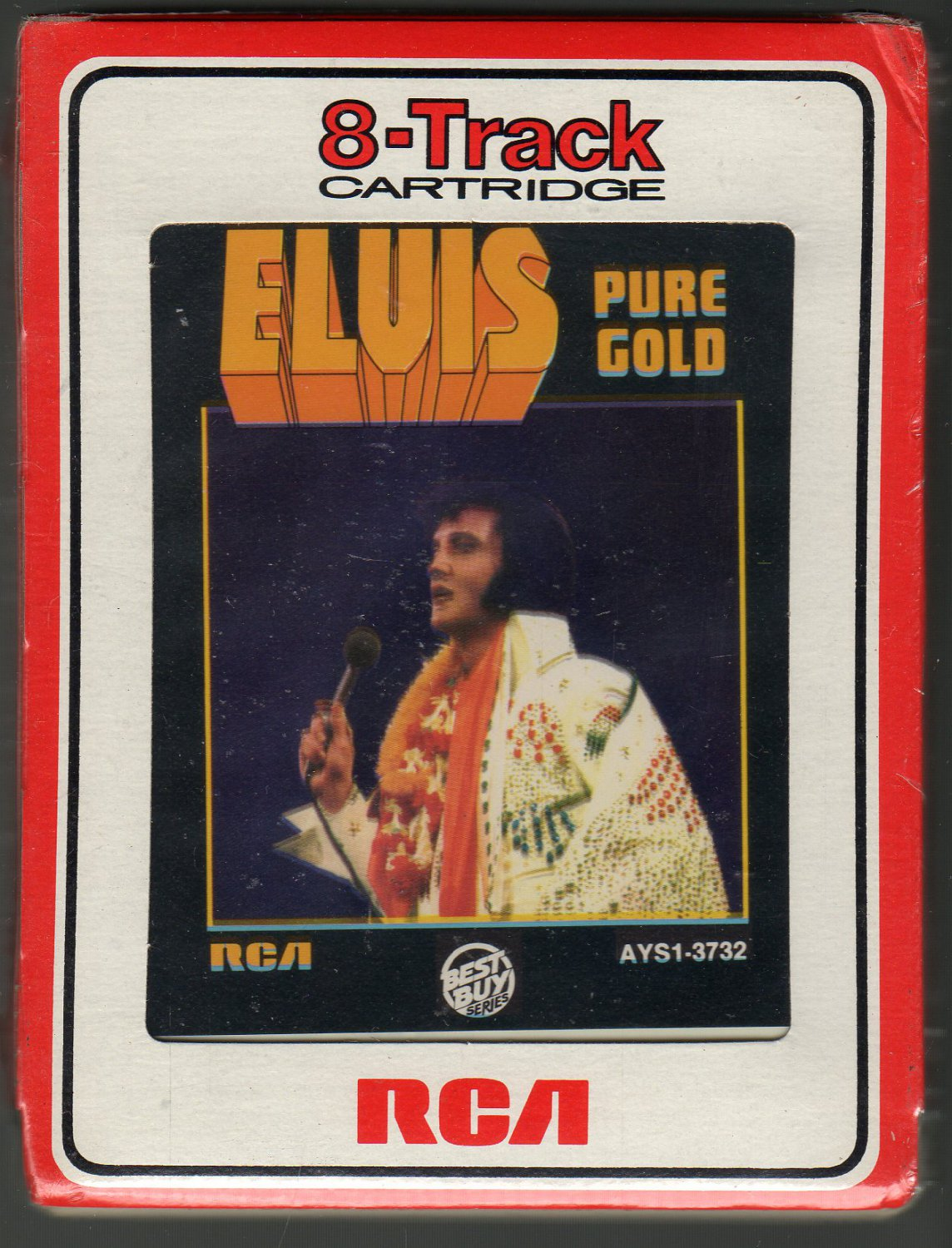 Elvis Presley - Pure Gold 1975 RCA Sealed A52 8-track tape