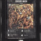 David Crosby & Graham Nash - Crosby-Nash Live 1977 WB T8 8-track tape