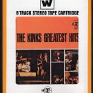 The Kinks - Greatest Hits 1966 REPRISE WB A7 8-track tape