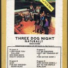 Three Dog Night - Naturally 1970 GRT DUNHILL A7 8-track tape
