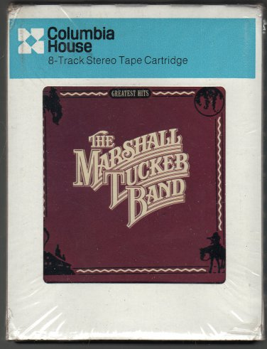 The Marshall Tucker Band - Greatest Hits 1978 CRC CAPRICORN AC3 8-track tape