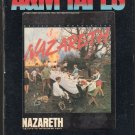 Nazareth - Malice In Wonderland 1980 A&M AC3 8-track tape