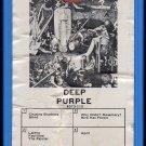 Deep Purple - Deep Purple III 1969 GRT TETRAGRAM AC1 8-track tape