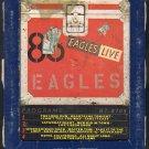 Eagles - Eagles Live 1980 ELEKTRA T7 8-track tape