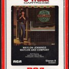 Waylon Jennings - Waylon And Company 1983 RCA A16 8-track tape