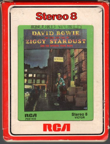 David Bowie - The Rise And Fall Of Ziggy Stardust 1972 RCA A52 8-track tape