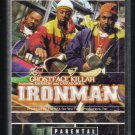 Ghostface Killah - Ironman 1996 Debut RAZOR PA C13 Cassette Tape