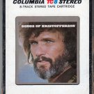 Kris Kristofferson - Songs Of Kristofferson 1977 CBS A29 8-track tape