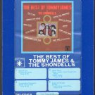 Tommy James & The Shondells - The Best Of 1969 GRT ROULETTE A12 8-track tape