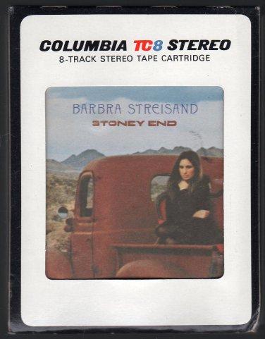 Barbra Streisand - Stoney End 1971 CBS A12 8-track tape