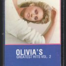 Olivia Newton-John - Greatest Hits Vol. 2 1982 MCA C9 CASSETTE TAPE
